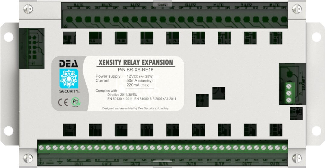 Scheda di espansione BR-XS-RE16